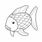 Fish, sea animals
