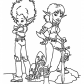 Arthur and Selenia minimoy, Minimoys cartoon