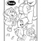 Barney and friends musicians, Barney cartoon