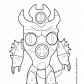 Big hero Fred Zilla coloring page Big hero 6