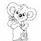 Blinky Bill cartoons, Dance