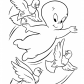 Casper and birds, Casper cartoon