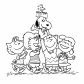Charlie Brown and merry gang, Cartoons
