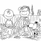 Happy Charlie Brown and pumpkins, Cartoons