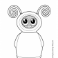 Fijit Friends Willa toy coloring page Fijit Friends
