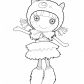 Lalaloopsy Doll coloring page, Furry Grrrs, A, Lot