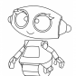 Rob robot cartoon