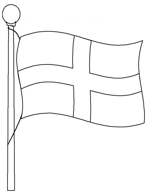 England Flag Printables  Activity Village
