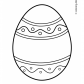 Easter egg prinables Easter ornaments 12
