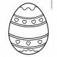 Easter egg prinables free 01