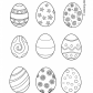 Easter eggs prinables 21