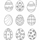 Easter eggs prinables 23