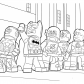 Lego heroes coloring page for boys Lego Heroes