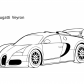 Super car Buggati Veyron