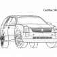 Super car Cadillac SRX
