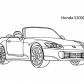 Super car Honda S2000