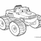 Monster truck Coloring page monster truck
