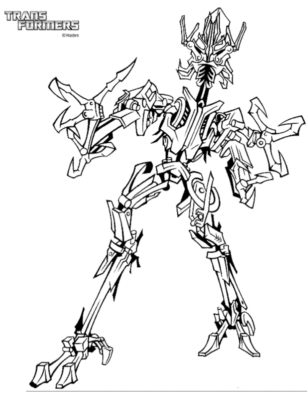 Transformers coloring page | Transformers coloring pages, Bee ... | 792x612