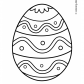 Easter egg prinables Easter ornaments 14