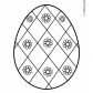 Easter egg prinables Easter ornaments 15