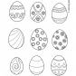 Easter eggs prinables 22