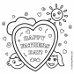 Father039s Day picture fathers coloring page free