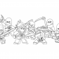 All Ninjago Lego coloring page